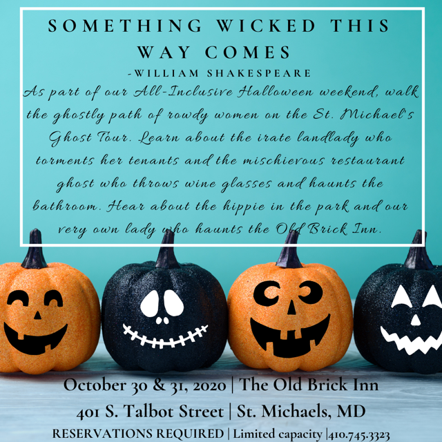 Halloween in St. Michaels, Maryland